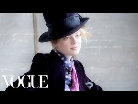 Emma Stone July 2012 Video