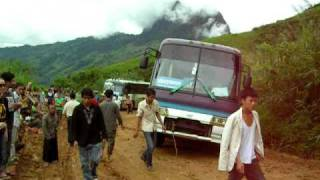 Bus To Luang Prabang (North Laos)
