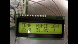 Automated Climate Control System (Light, Temperature