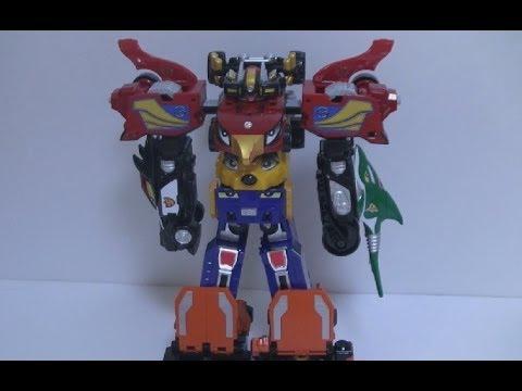đồ chơi Siêu Nhân Cơ Động 파워레인저 엔진포스 G6 엔진킹 로봇 변신 장난감 Power Rangers Toys