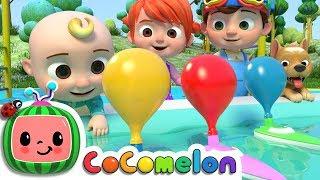 Balloon Boat Race | ABCkidTV Nursery Rhymes & Kids Songs