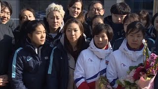 'Unified Korea' at 2018 Winter Olympics in Pyeonchang raises suspicions | ITV News