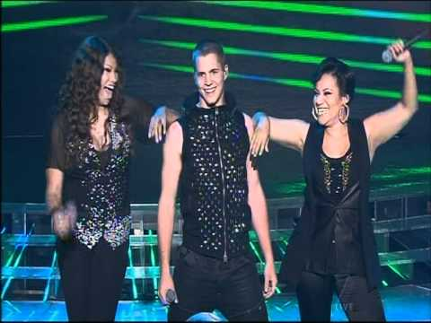 Johnny Ruffo & Salt n Pepa  - Push it - X Factor Australia 2011 Grand Final