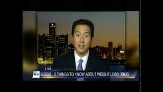 HLN - Dr. Youn on Belviq the Weight Loss Drug