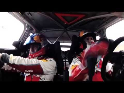 Dani Sordo CRASH @ WRC Philips LED Rally Argentina 2013