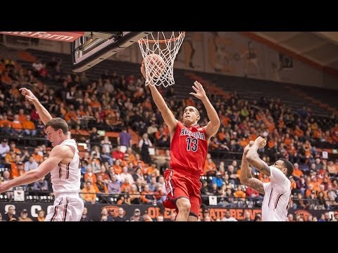 Arizona Grinds Out Win at Oregon State Highlights