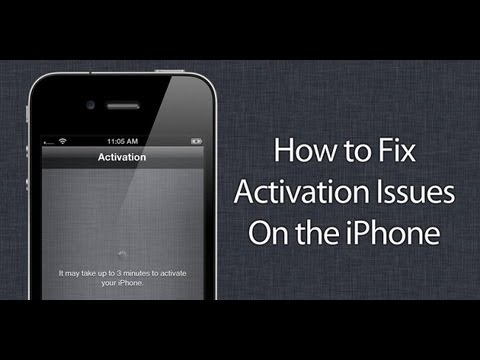iOS 7 Activation Error fix! And Downgrade Tutuorial! - YouTube