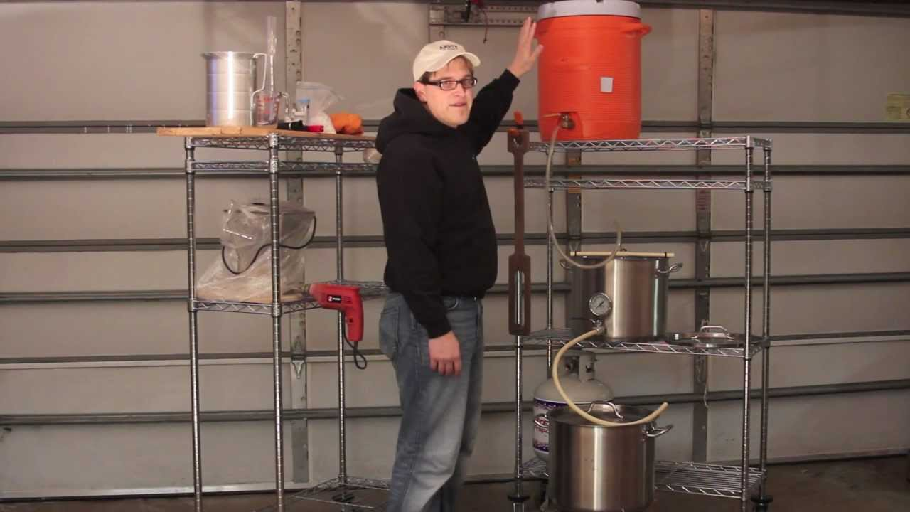 Overview Of A Typical Three Tier Brewing System Brew