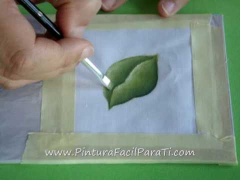 All comments on Tutorial Pintar Hojas en Tela - Pintura Facil Para ...