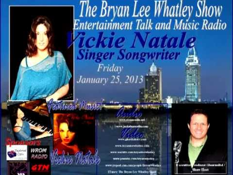 Vickie Natale, Singer/Songwriter, on The Bryan Lee Whatley Show