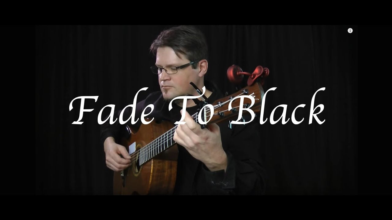 how to play metallica fade to black solo