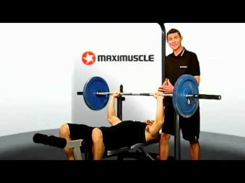 Bench Press Exercising for Basketball players