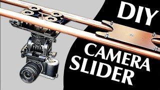 Cómo hacer un slider profesional para tu cámara