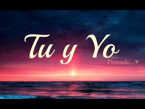 TU Y YO PIENSALO - YouTube