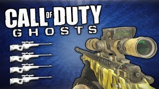 Quad Feed With Every Gun! (Call Of Duty: Ghosts)