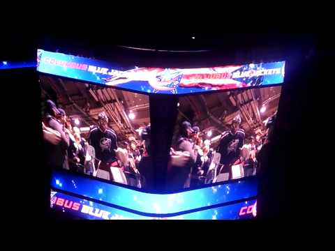 Columbus Blue Jackets vs. New York Rangers Introduction 3/21/2014
