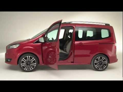 Nouveau Ford Tourneo Courier Youtube