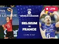 Belgium v France Group 1 2017 FIVB Volleyball World League