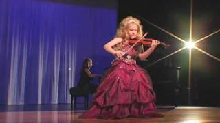 Incredible 7-Year Old Child Violinist Brianna Kahane