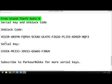 gta 4 serial code crack