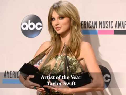 2013 American Music Award *WINNERS*