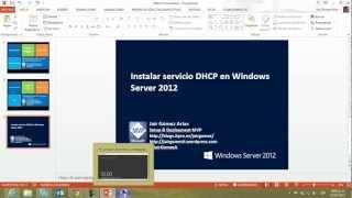 Windows Server 2012 Instalar Y Configurar Servidor DHCP