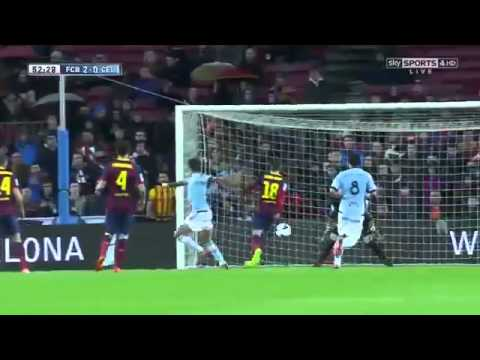Barcelona Vs Celta Vigo 3 0   All Goals  u0026 Match Highlights   March 26 2014   High Quality