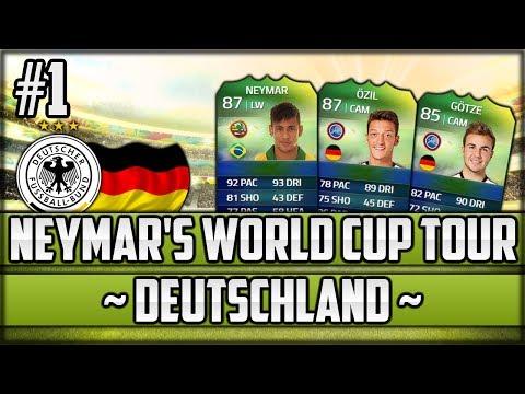 FIFA 14 Next Gen - Neymar's World Cup Tour - #1 - Deutschland
