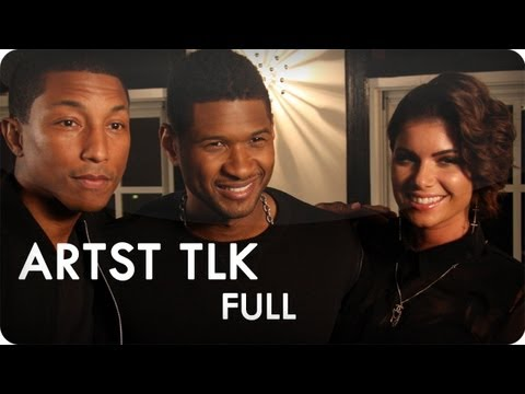 Usher and Pharrell Williams feat. Leah LaBelle | ARTST TLK Ep. 6 Full | Reserve Channel