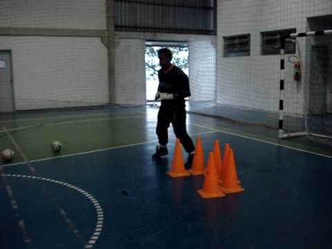 1)  TREINAMENTO GOLEIROS FUTSAL GOALKEEPER TRAINING ( PROF. TIAGO PONTES )