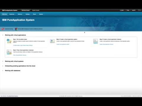 IBM PureApplication Service on SoftLayer Mobile Pattern Demo