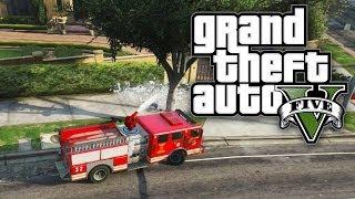 GTA 5 THUG LIFE #17 DRIVE BY FIRETRUCK! (GTA V Online