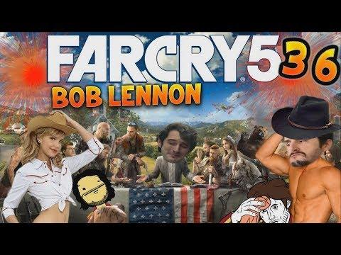 LA CASCADE LA PLUS ÉPIQUE !!! Far Cry 5 - Ep.36 - avec Bob Lennon