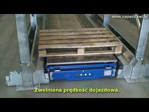 Wózek akumulatorowy zasilany prądem stałym 24 VDC z regulatorem DCC2412