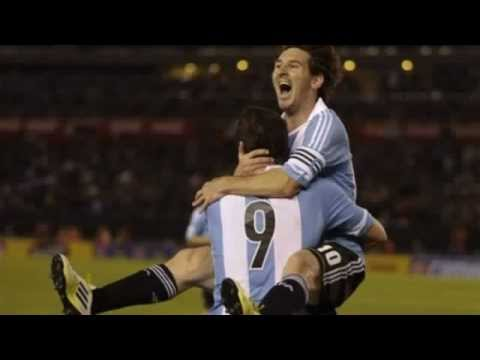 Argentina - Ecuador 4-0 All Goals Full Highlights 02.06.2012 Lionel Messi Show