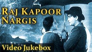 Top 10 Raj Kapoor and Nargis Video Songs Jukebox