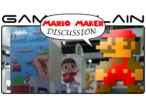 Mario Maker Leak Discussion (E3 2014)