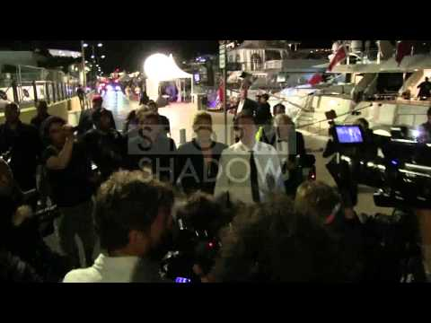 CANNES FILM FESTIVAL 2014 - Cavalli's Boat Party - Heidi Klum and boyfriend Vito Schnabel