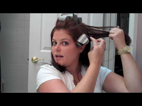 How to Curl Hair Using Hot Rollers