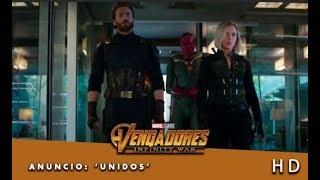 Vengadores: Infinity War de Marvel | Anuncio: 'Unidos' | HD