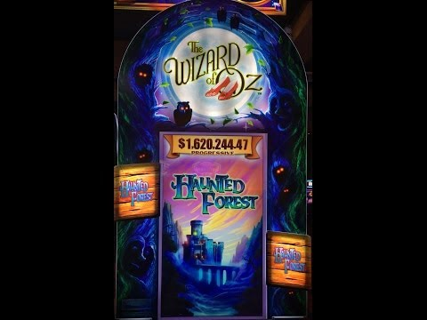 Wizard of oz haunted forest slot big win