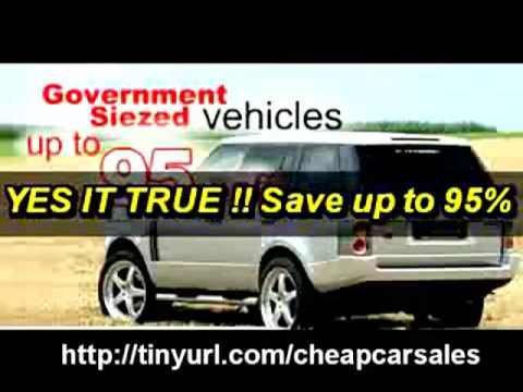 us government car auctions police auto auctions seized cars repos youtube. Black Bedroom Furniture Sets. Home Design Ideas