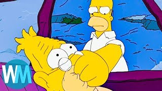 Top 10 Times The Simpsons Went Too Far