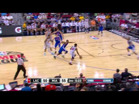 Los Angeles Clippers vs Miami Heat | July 16, 2014 | NBA Summer League 2014