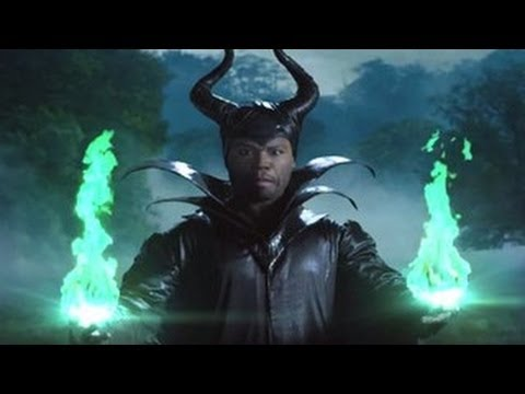 50 Cent Spoofs Angelina Jolie's 'Maleficent' On Jimmy Kimmel Live
