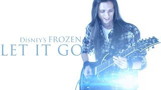 ★ Let It Go Disney's Frozen Rock Version [Guitar