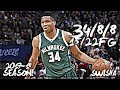 Giannis Antetokounmpo Full Highlights vs Cavaliers 34 Pts 8 Asts 8 Rbds 15 22FG
