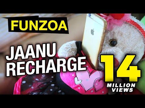 FUNZOA VINE 7 |Janu Recharge Kar Do | Funny Girl Boy Conversation 01 | Funzoa Viral Videos