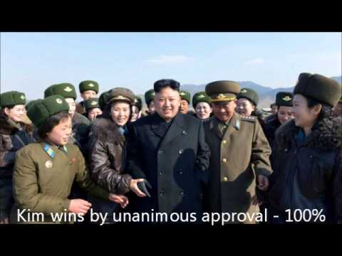 N KOREA, Kim Jong Un WINS ELECTION!