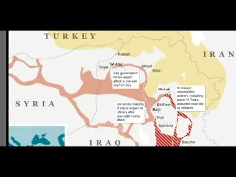 GGN: ISIS in Iraq Helps Create Greater Israel? Part 1/3